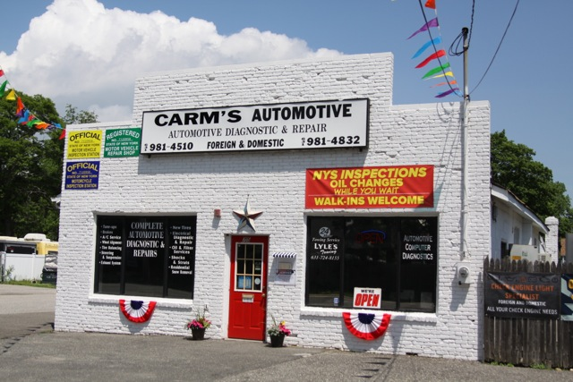 Carm's Automotive Location